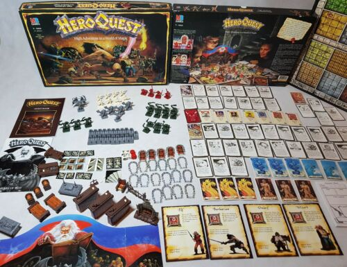 Hero Quest Game
