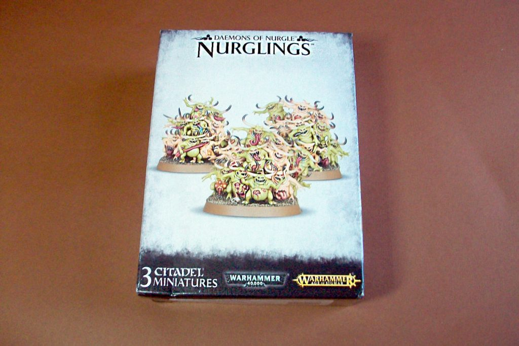 Unboxing of Games Workshop Nurglings