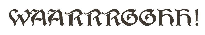 WAAARRGGGH ork language