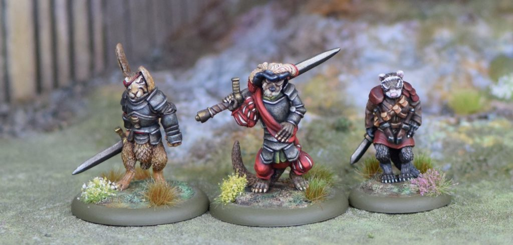 Burrows & Badgers Miniatures & Figurines