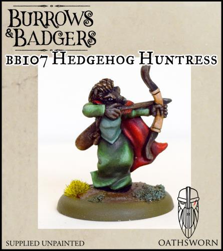 Burrows & badgers Hedgehog huntress