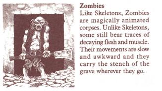 Original Hero Quest Zombie