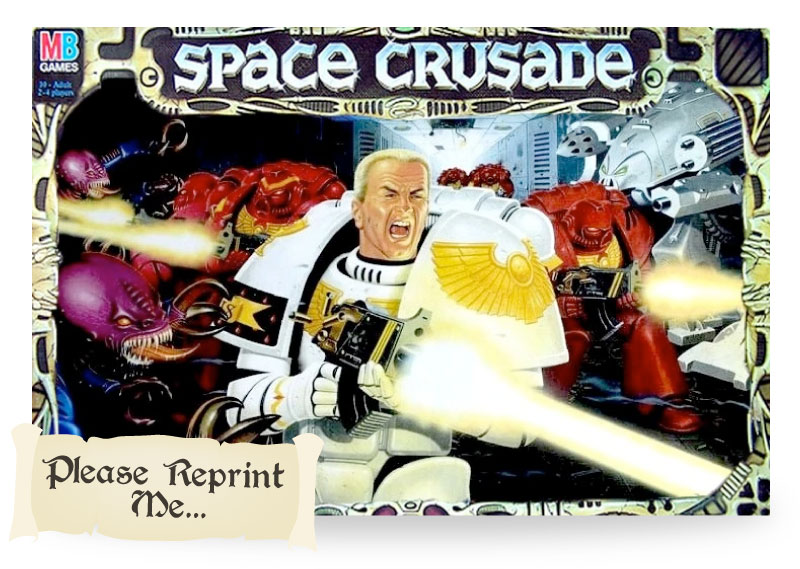 Classic Space Crusade Board game - Copyright GW, MB games
