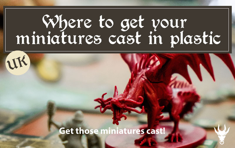 Where to get your miniatures plastic cast UK
