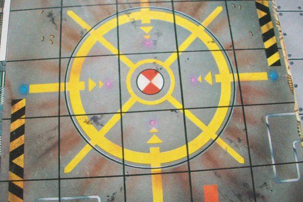 Space Crusade Board Close