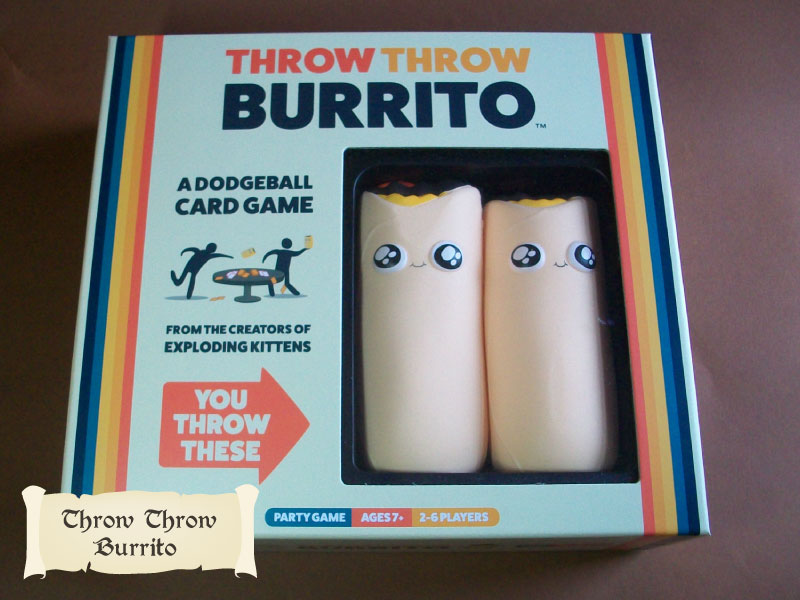 Throw Throw Burrito for houseshare
