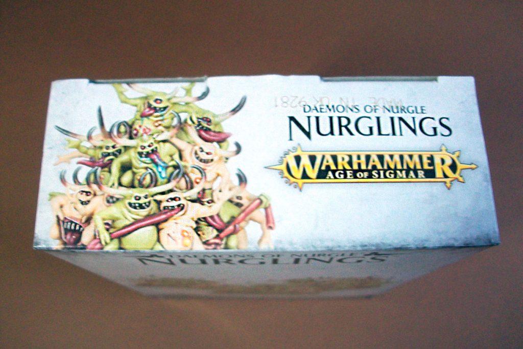 Unboxing of Games Workshop Nurglings