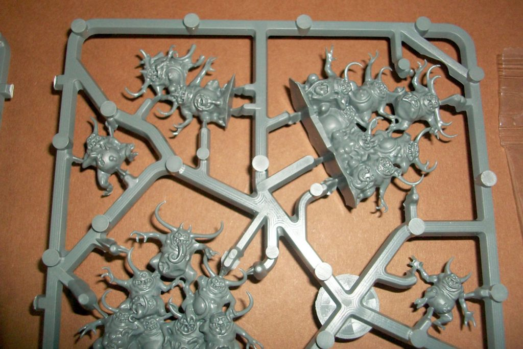 Nurgling bunch new straight out of packaging - Unboxing of Games Workshop Nurglings