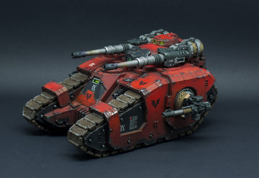 Why miniature figure painting is an art - paint a tank!