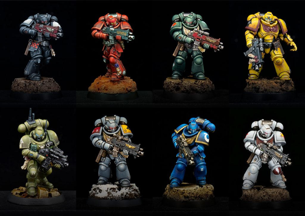 Why miniature figure painting is an art - Space Marines