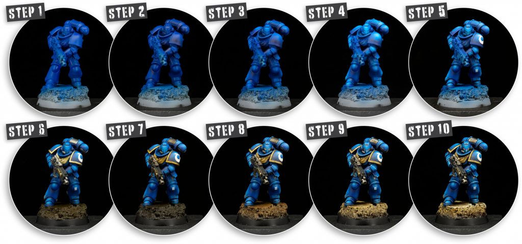 Why miniature figure painting is an art - steps