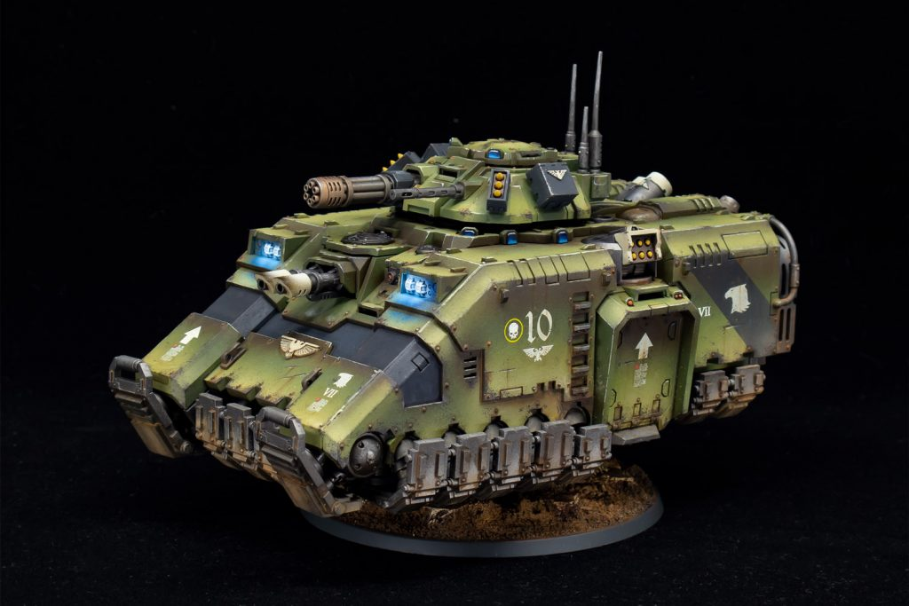Why miniature figure painting is an art - look at this vehicle!