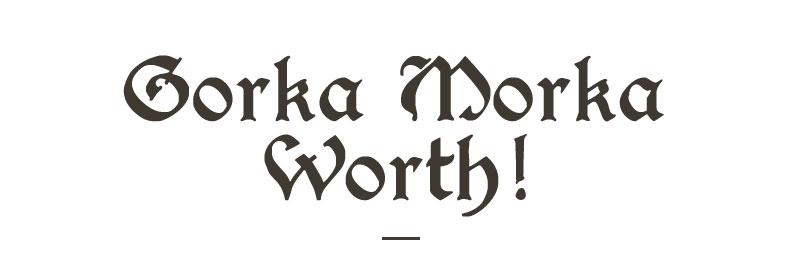complete or incomplete 1997 Gorkamorka worth