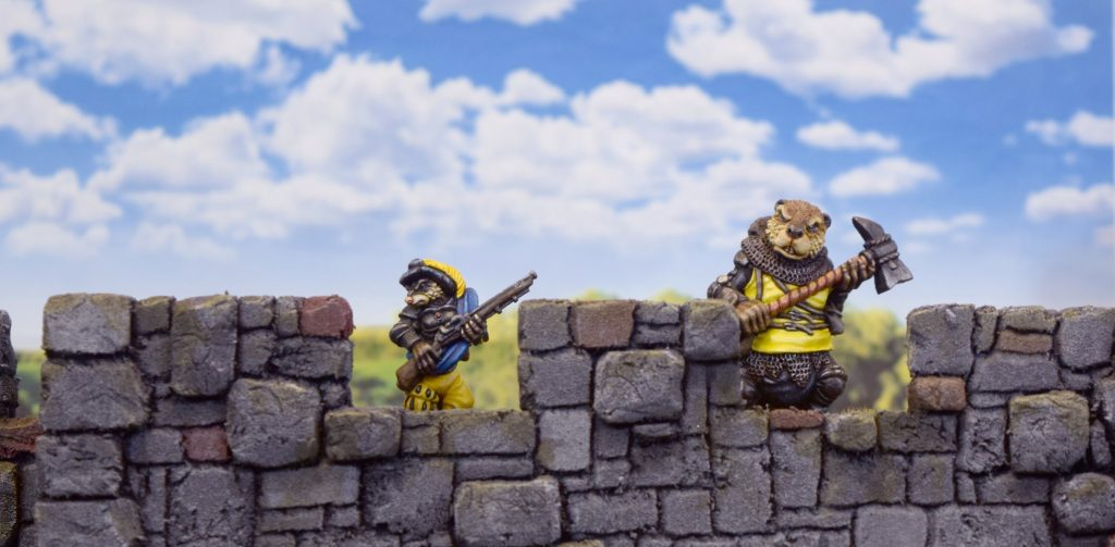 What is Burrows and Badgers about- wall defenders
