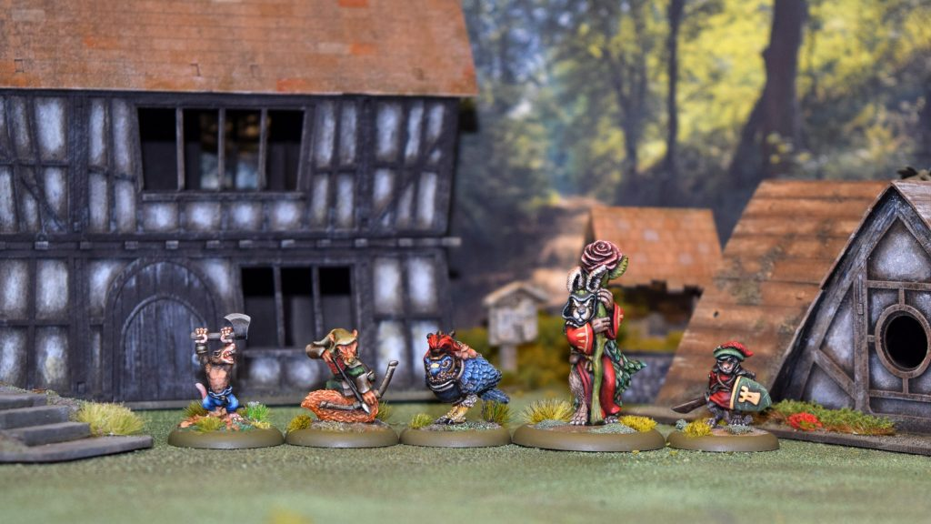 - What is Burrows and Badgers aboutcharacter line up and terrain