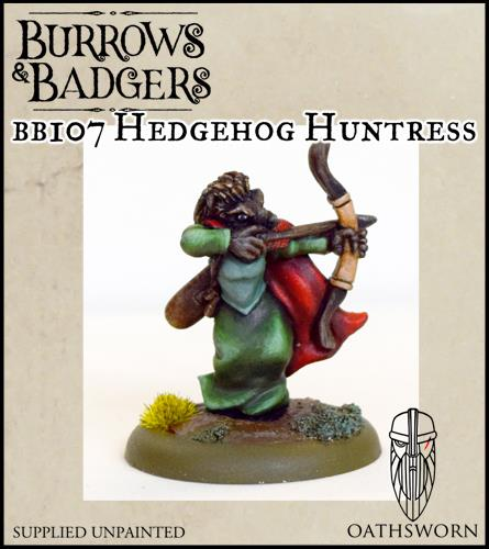 Burrows & badgers Hedgehog huntress