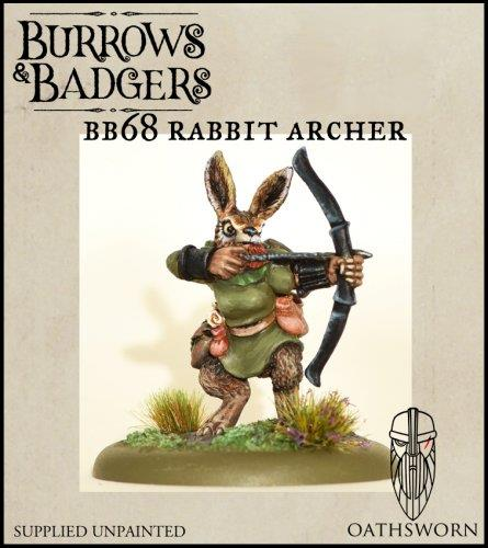 Burrows & badgers Rabbit Archer