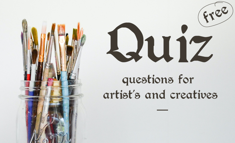 free pub quiz questions and answers for artists