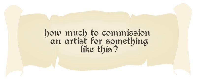 original heroquest box art value to commission