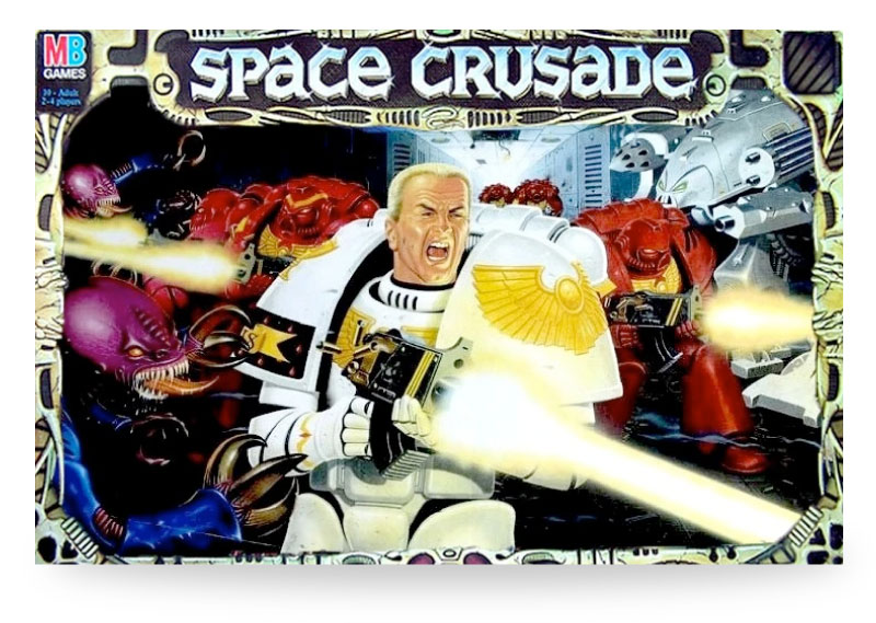 space crusade contents list uk - cover work box