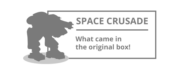 Space Crusade - what came in the box