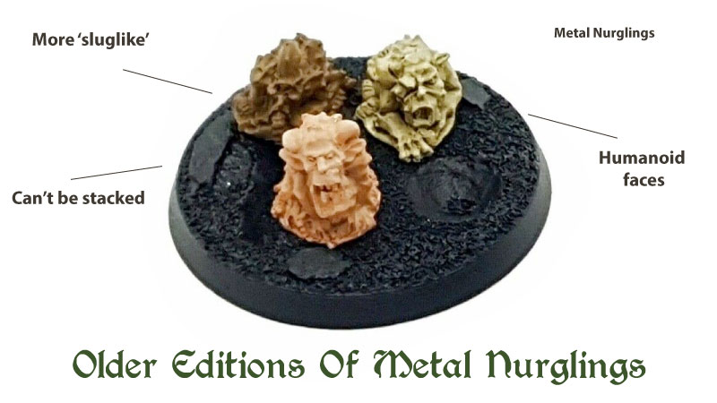different types of nurglings rogue trader
