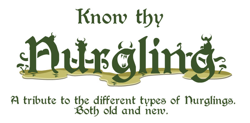 different types of nurglings