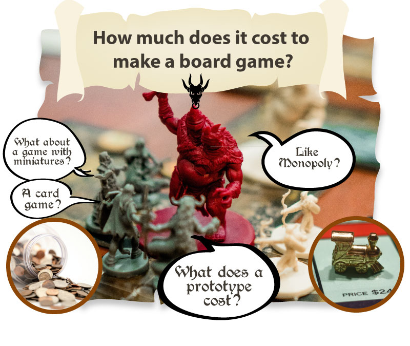 how much does it cost to make a board game title graphic